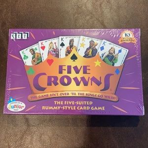 Five Crowns Rummy Card Game ♠️♣️♥️♦️